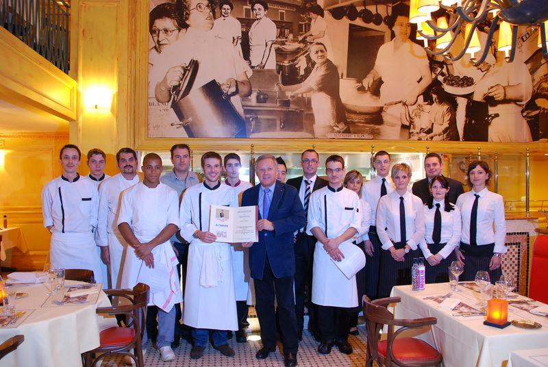 Un d ner presque parfait soir e avec le gagnant et georges blanc cuisine plurielle - Cours de cuisine georges blanc ...