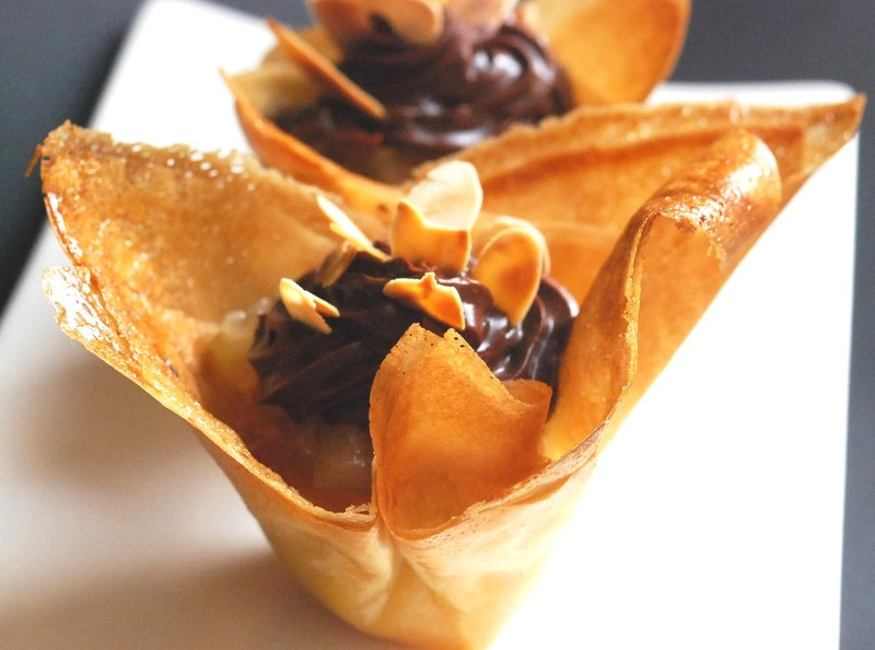 Croustillant Poires Gingembre Creme D Amandes Et Chocolat Cuisine