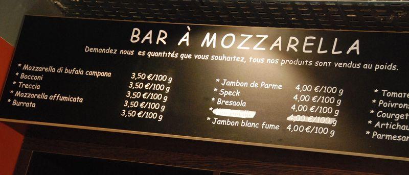 bar a mozza