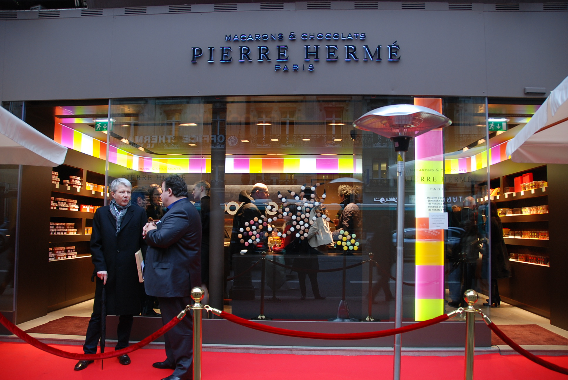 P te de fruits aux griottes ou mangues cf pierre herm inauguration de la - Magasin de pierre paris ...