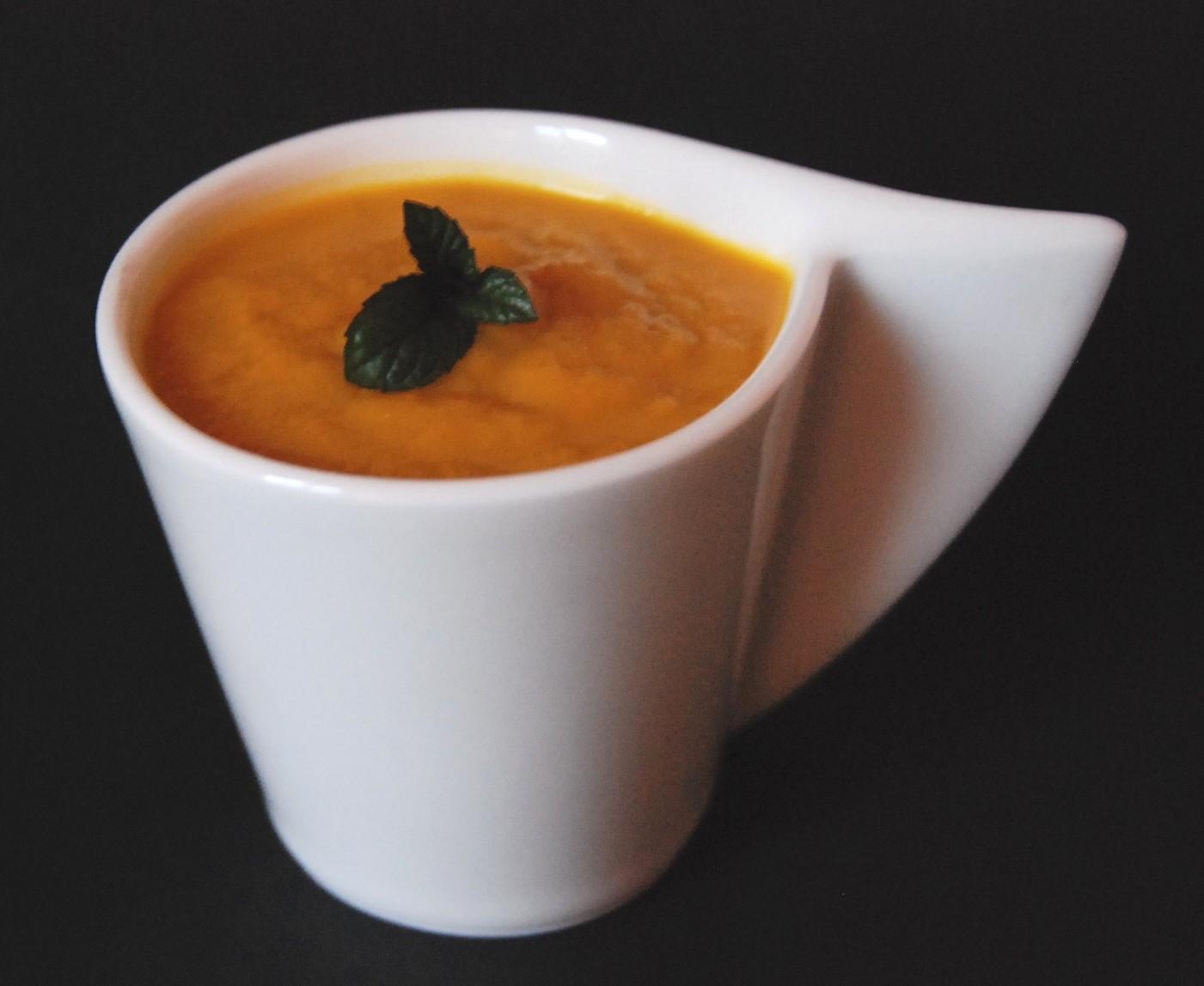 Velouté carottes gingembre miel 008