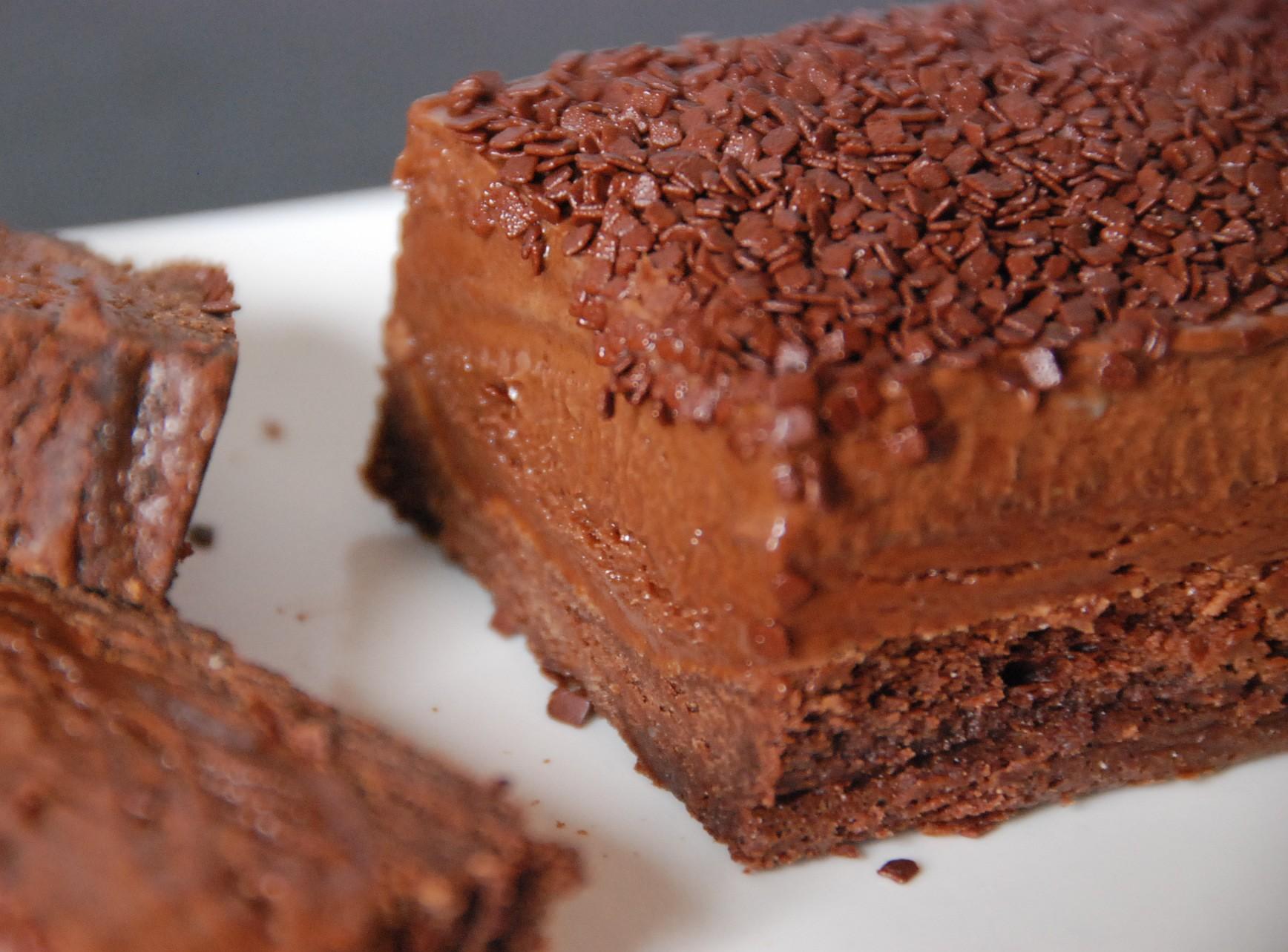 Gateau au chocolat sans beurre et 2 oeuf