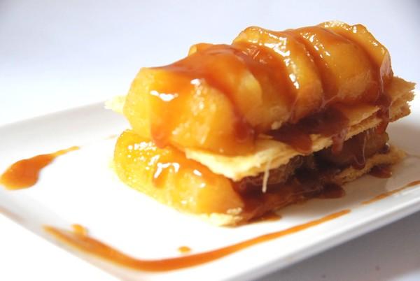 Pommes au four façon tatin cf Alsa, rubrique J'ai testé pour vous