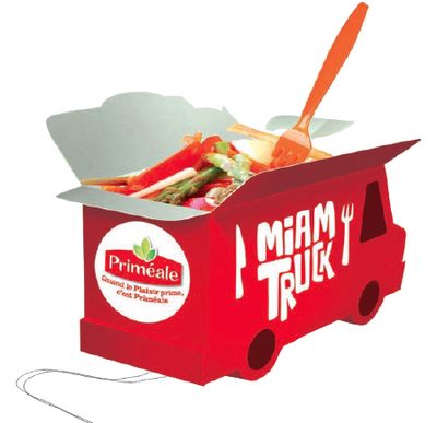 Gagner un cours de cuisine avec le Miam truck Primeale
