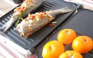 Bar anisé et légumes au grill 7