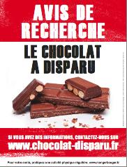 Avis de recherche chocolat