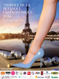 Affiche Trophée de la Pétanque Gastronomique 2014