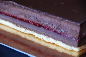 Entremets chocolat framboise (7)