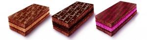Napolitain 3 gâteaux