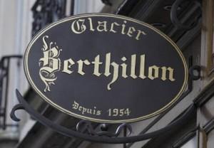 devanture Berthillon