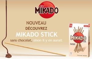 Mikado sans chocolat