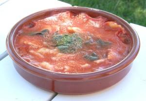 Consommé tomates ravioles (4)