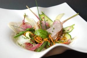Porc cuit au lait légumes croquants (4)