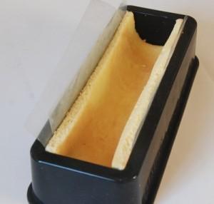 buche biscuit posé moule