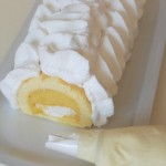 buche pose meringue