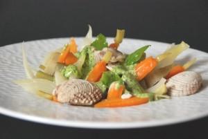 Légumes à la grecque, coquillages (11)