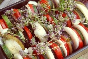 Tian de légumes avt cuisson