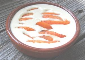 Crème citron aux abricots 001