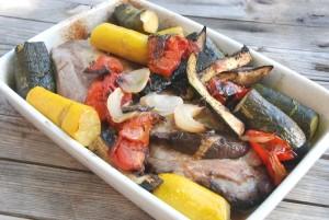 Travers légumes méditerrannéens