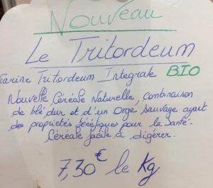 tritrodeum-etiquette-pain