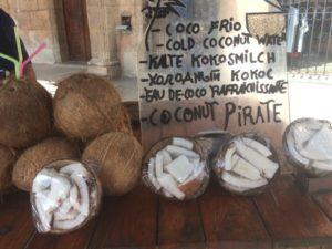 Cuba noix de coco